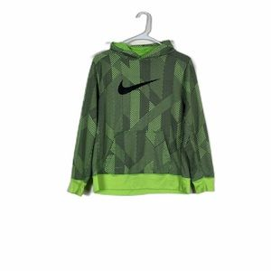 Nike therma-Fit hoodie Green Boys Extra Large